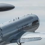 E-3 departing
