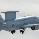 RAAF E-7A Departing