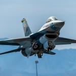 F-16 Aggressor tally-ho